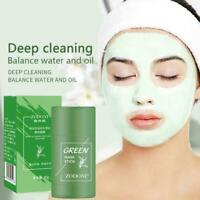 Green Tea Purifying Clay Stick Oil Control Anti-Acne Cleaning Fine x1 Mask O9W6