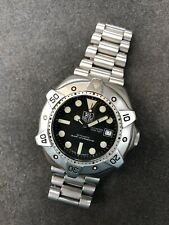 TAG HEUER Super Pro  Professional Steel Automatic Mens Dive Watch WS2110 1000m