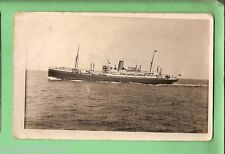 """#D.   SHIPPING  PHOTOGRAPH """"JERVIS BAY"""", ABERDEEN, COMMONWEALTH LINE"""