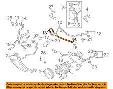 BMW OEM 06-10 550i-Power Steering Pressure Hose 32416781781