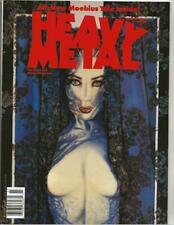 Heavy Metal Magazine March 1990 Moebius Story & Olivia Cover!