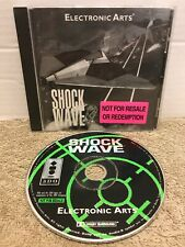 Rare Panasonic 3Do Shock Wave Not For Resale Electronic Arts Tested Retro Game