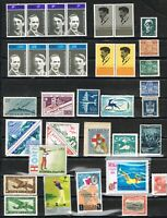 jimace29  Worldwide Collection of 36, Unused Ireland, Italy, San Marino, Greece+