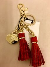 Brahmin Tassel Keychain, CHUTNEY-no longer available