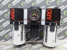 USED Aro C38341-800 Combination Filter-Regulator-Lubricator Assembly