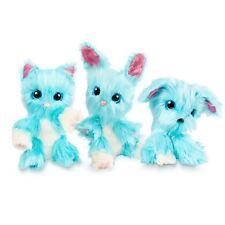 SCRUFF-A-LUVS AQUA BLUE MYSTERY RESCUE PET FURRY ANIMAL CHILDRENS SOFT TOY