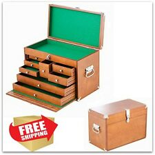 Wood Carving Tools Pfeil Storage Chest Cabinet Machinist Tool Box Supplies Store