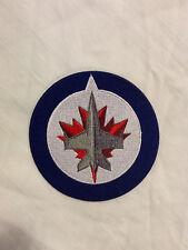 Winnipeg Jets Logo NHL Hockey Hat Shirt Jacket Jersey Embroidered Iron On Patch
