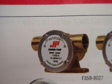 JOHNSON PUMP F35B 8027 ENGINE COOLING 102456909 BOAT