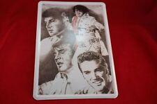 Blechschild 20x30 cm Elvis Presley Portaits four in one - the King Sign Schild