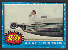 Topps Star Wars - Series 1 1977 - # 25 Luke Rushes To Save His Loved Ones
