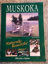 Muskoka Ontario Canada Visitors Travel Guide 1998