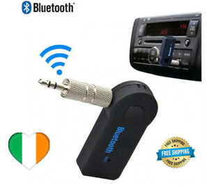 Bluetooth Receiver Adapter 3.5mm Jack Car Home Music Audio Aux Stereo Wireless