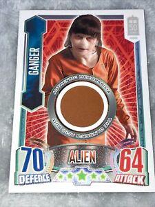 Alien Attax - Ganger Costume Card 50th Anniversary Doctor Who GANGER