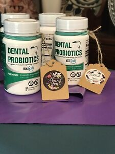 Pro-B-Fresh Dental Probiotics. Contains BLIS And K12. Brand New, Sealed, 30 Tabs