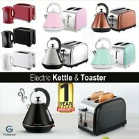 Electric Kettle Cordless Fast 1.7 L 1.8 L 2200 W 2 Slice Toaster 750 W 900 W