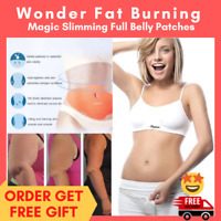 NEW 10 Burning Fat Thick Slimming Patch Slim Belly Weight Loss Abdomen Detox Pad