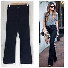 Main Line Vanessa Bruno Dark Wash Flared Jeans Sz 25