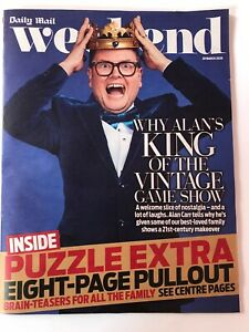 **ALAN CARR UK TV COMEDIAN WEEKEND MAGAZINE MARCH 2020 - EXCELLENT CONDITION**