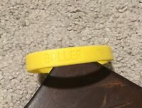 Nike Baller ID bands wrist band wristband new Yellow Baller New Adult Size