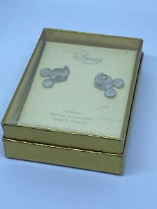 Rare Boxed Offical Disney Mickey Mouse Cufflinks Unworn Collectable