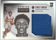 STANLEY JOHNSON 2015-16 Panini Gala Coming Attractions JERSEY #/60 Pistons