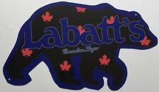 Labbats Blue Bear Beer Sign