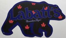 Labbats Blue Bear Beer Sign