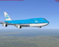 KLM 747 DUTCH LARGE PLANE MODEL  1:150 AIRPLANE APX 45cm SOLID