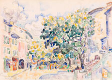 Antibes by Paul Signac 60cm x 43cm Art Paper Print