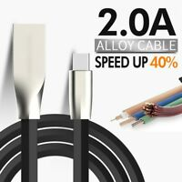USB Cable Leads for iPhone X 8 7 6 5 SE iPad Air Mini Data Sync Charger Cord iOS