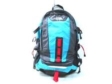 Auth THE NORTH FACE HOT SHOT Light Blue DarkGray Red Nylon Backpack