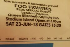 Foo fighters tickets london