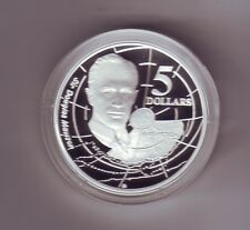 1994 $5 SILVER Proof out Masterpieces Set Sir Charles Mawson Explorer