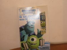 Monsters University With 16 Valentines Cards An 16 Pencils