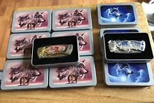 New - The Wolf Knife Collector Knives with Tins Dealer Lot x 5 - All in Tins