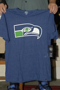 Seattle Seahawks t shirt new w tags 47 brand XL Mint 12th man Russell wilson NFL