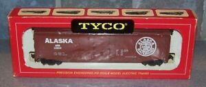 TYCO MANTUA  ALASKA BOX CAR RED BOX ERA SCARCE NOS OLD STORE STOCK
