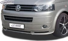 RDX Frontspoiler VW T5 Facelift 2009+ Front Spoiler Lippe Vorne Ansatz