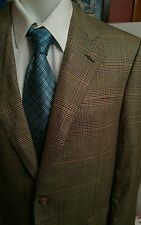 Plaid Hickey Freeman Prestige Blazer Size 41 reg flaw