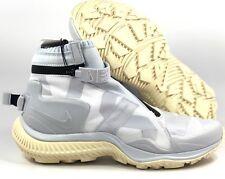 Nike NikeLab NSW Polaina Bota Gyakusou Branco Cinza Preto AA0530-100 Masculino 7.5-10.5