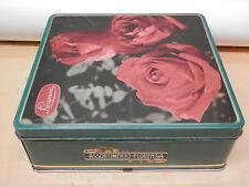 Vecchia scatola in latta LAZZARONI Serie Malibran Assortimento Florentia Biscott