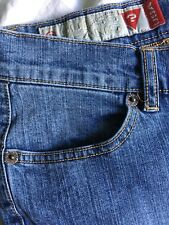 """Guess 29 3 Snap Fly Stretch Denim Jeans Blue Waistband 32"""" Inseam 31.5"""" Rings"""