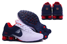 Nike Shox NZ Deliver size 7.5UK, 42 EUR navy / white / red