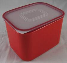 Tupperware A 151 Quadro Dose Behälter Box mit Deckel 1,3 l Rot Neu OVP