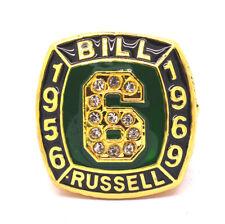 Bill Russell 1956-1969 NBA Boston Celtics Championship rings