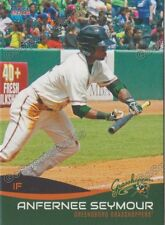 2016 Greensboro Grasshoppers Anfernee Seymour RC Rookie Marlins