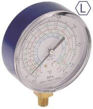 """Manometer Anschluss 1/8"""" NPT LOW ø 80mm R22/R134a/R410a/R407c"""