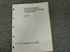 New Holland 65 268 270 271 280 Baler Service Serviceman's Troubleshooting Manual