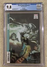 Marvel Comics Presents 4 CGC 9.8 Bill Sienkiewicz Ratio 1:50 Variant Cover Moon